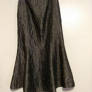 Elegant grey maxi skirt